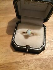 9ct And Opal Ring Size R