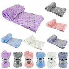 Machine Washable Contemporary Bed Blankets