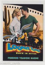 LOONEY TUNES BACK IN ACTION TRADING CARDS PROMO CARD BIA-UK