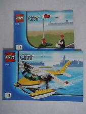 LEGO City 3178 - Wasserflugzeug  kpl. +  Bauanleitung + Figur TOP
