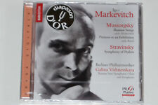Markevitch, Mussorgsky, Stravinsky -Russian Songs- SACD Super Audio NEU, OVP