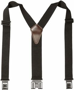 Men's Perry Suspender Y-back Suspenders with Hook Clips Attach to Belts 1 Piece