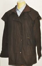 GREAT MEN'S WAX  DRIZA-BONE SHORT COAT EXTRA SMALL BROWN