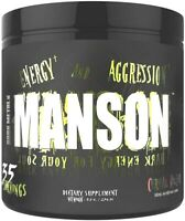 Insane Labz Dark Metal MANSON Pre Workout Energy Pump Focus 35 Srvs PICK FLAVOR