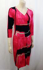 Stretchkleider aus Baumwollmischung mit geometrischem Muster