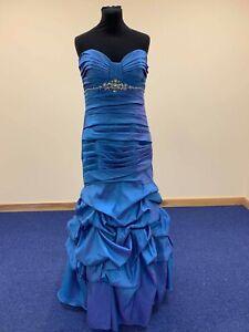 Brand new Alfred Angelo Twilight prom dress size 14 zip up taffeta fishtail