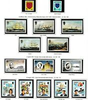 S35014 Jersey 1985 MNH Complete Year Set Year Complete 2 Scans