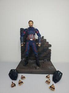 "Marvel Diamond Select Legends Avengers: Infinity War 7"" CAPTAIN AMERICA Figure"