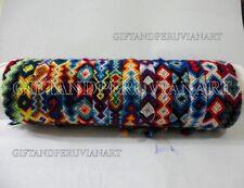 10 Peruvian Wool Friendship Bracelets Cusco Unisex Handmade New Folck Art Peru