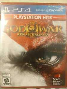 God of War 3 Greatest Hits PS4 Brand New and Sealed!