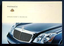 Owner's Manual * Betriebsanleitung 2004 Maybach 57 * Maybach 62 (USA)