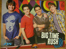 Big Time Rush, Lady Gaga, Double Full Page Pinup