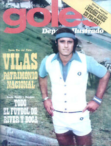 TENNIS GUILLERMO VILAS  INTERVIEW GREAT PHOTOS Mag 1976