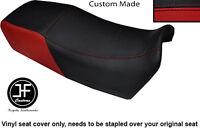BLACK VINYL CUSTOM ITALIAN FLAG DESIGN FITS DUCATI ST2 ST4 DUAL SEAT COVER ONLY