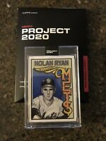 Topps PROJECT 2020 Card 314 - 1969 Nolan Ryan by Mister Cartoon -In Hand