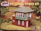 [RXR] HO SCALE-SIGNAL TOWER BUILDING, Plastic Diorama Landscape Model Kit, VINT.