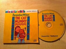 Jacqueline Wilson THE CAT MUMMY read by Sophie Thompson AUDIO BOOK CD
