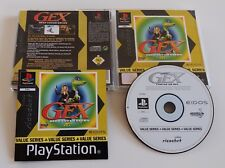 Playstation 1 Spiel - Gex: Deep Cover Gecko ps1
