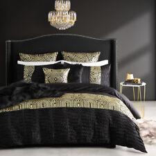 Ultima Logan and Mason Queen Size Bed Ritz Gold Duvet Doona Quilt Cover Set
