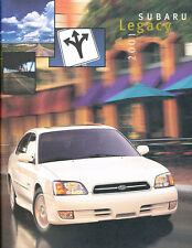 2001 Subaru Legacy 24-page Original Car Sales Brochure Catalog - GT Limited