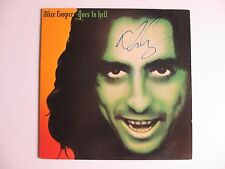 ALICE COOPER GOES TO HELL SIGNED ALBUM VINYL RECORD LP DC/COA
