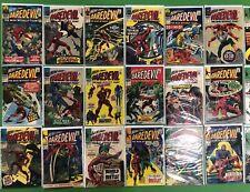 Daredevil #19 20 21 22 23 24 25-52 Run Lot Stan Lee Romita VG/FN Marvel Comics