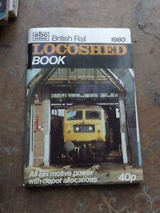 Ian Allan ABC Locoshed TMD Depot 1980 Diesel Locos Book BR Locomotives
