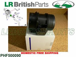 LAND ROVER MASS AIR FLOW SENSOR 3.0L V6 DIESEL 3.6L V8 DIESEL NEW PHF500090 VDO
