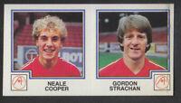 Panini - Football 83 - # 395 Cooper / Strachan - Aberdeen