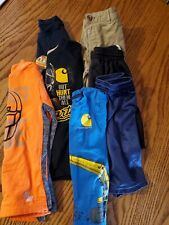Seven Piece Boys Size 4 Clothes Lot Shirts Pants Shorts