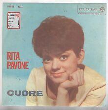 """RITA PAVONE CUORE/IL BALLO DEL MATTONE  7"""" 45 GIRI"""