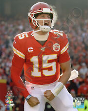 Patrick Mahomes Kansas City Chiefs AFC Champions 8x10 Authentic Photo