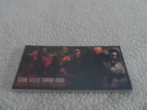 The New Serial Killer Trading Cards- sealed unopened.Series 1,2,3