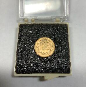 1945 M Dos Pesos - Mexico Gold Coin