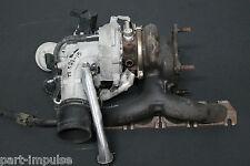 Audi TT 8J 2.0 Turbolader Turbo Krümmer Charger 06J145702S 06H145710C MKB:CESA
