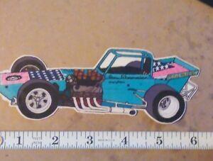 Jim Shampine - 8 Ball Wedge Supermodified - Custom Art Sticker