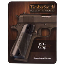 1911 Government Fullsize THE SHIELD Black Laminate TimberSmith New Grips