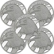 Pledge of Allegiance Silver Eagle 1 oz .999 Silver Round LOT of 5