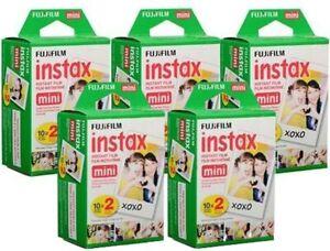 Fujifilm Instax Mini Film 100 Sheets Fuji instant photos 7s 8 25 90 Polaroid 300