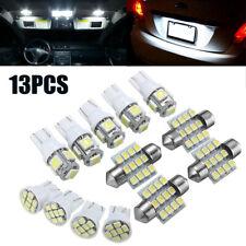 13Pcs T10 31mm Festoon LED Bulb Interior Dome Map LED Lights License Plate Light