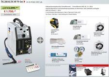 GYS WIG SALDATRICE TIG 200 200l AC DC HF 011816 acqua refrigerati nel set d11666