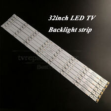 "6pcs x 32""inch LED Strips w/ Optical Lens Fliter TV Panel Backlight lamp 600mm"