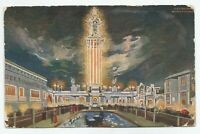 VTG Electric Tower White City Chicago IL Lights Recreational Park Postcard 1907