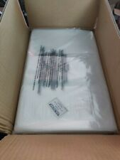 New listing 500 Clear 18 x 24 Poly Bags Plastic Lay Flat Open Top Packing Uline Best 2 Mil