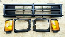 MATTE FLAT BLACK GRILLE ASSEMBLY FIT FOR TOYOTA PICKUP 4RUNNER 1987-88 RN65 4WD