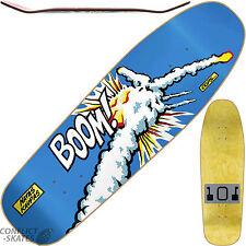 "101 ""Natas Challenger"" Skateboard Deck 9.8"" BOOM Reissue Screen Print BLUE 1990s"