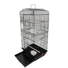 "37"" Bird Parrot Cage Canary Parakeet Cockatiel LoveBird Finch Bird Cage Uss New"