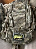 Voodoo Tactical Large Tobago Cargo Pack w/ Padded Straps and Kidney Belt A-TACS