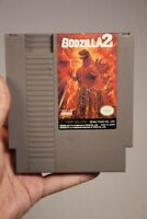 War of the Monsters Godzilla 2  Nintendo Game 1991 NES  READ DESCRIPTION