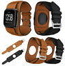 Fashion Leather Replacement Band Strap Wristbands For Fitbit Versa Smart Watch
